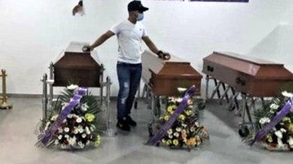 Ehiner Anzola Villamizar, Emilio Ramírez Villamizar, Jefferson Uriel Remolina Ramírez y Luzdey Remolina, la familia asesinada en Apure