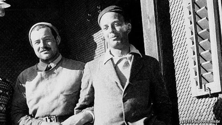 John Dos Passos y Hemingway