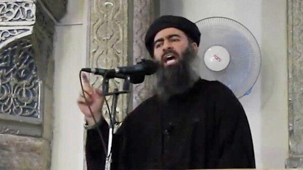 El líder del Estado Islámico, Abu Bakr al Baghdadi