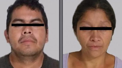 La pareja feminicida de Ecatepec enfrenta hasta ahora cargos por el asesinato de una sola mujer. (Foto: Fiscalía del Estado de México)