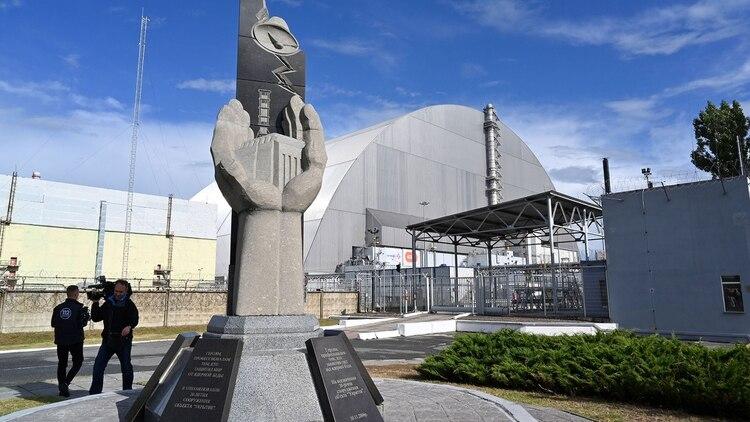Estima que la estructura garantizará la seguridad del lugar unos cien años (AFP)