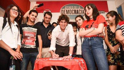 Martín Lousteau no está decidido a avanzar en una construcción política progresista