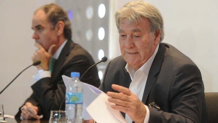 Armando Pérez fue el líder directivo de la Junta Interventora de AFA (Foto: Télam)