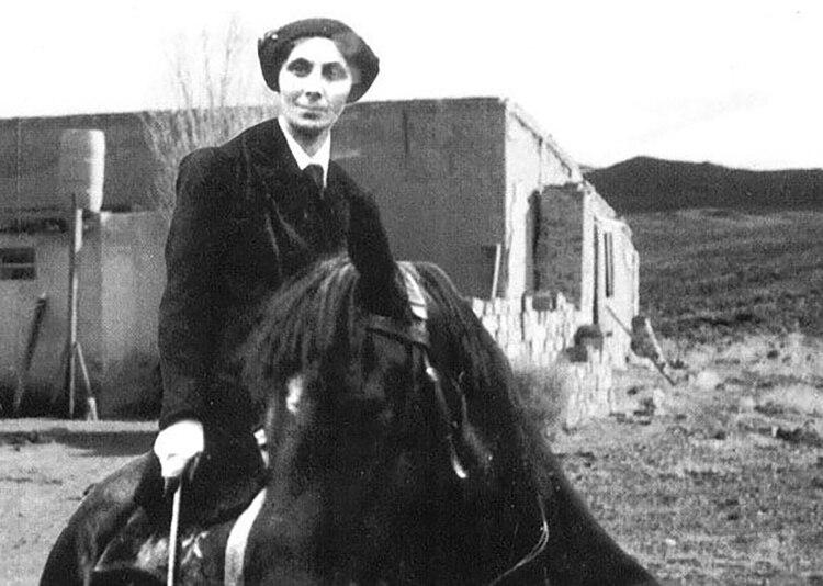 Elena Greenhill fue una mítica bandolera británica que vivió en la Patagonia argentina y enfrentó a tiros a la policía