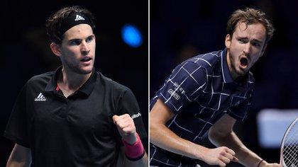 Thiem y Medvedev definirán el ATP Finals