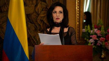 """""""Le estamos comunicando al mundo que el derecho a la movilización ha sido afectado por vándalos"""": canciller colombiana"""