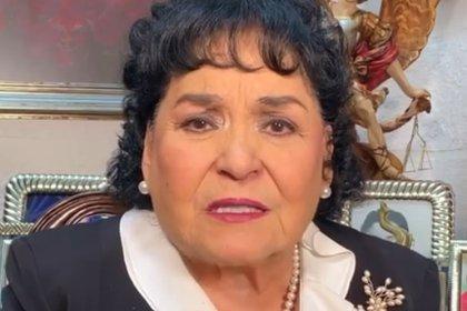 Carmen Salinas pidió a la gente que tenga mucho cuidado (IG: carmensalinas_56)