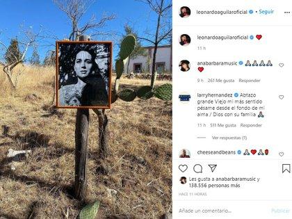 La matriarca fue enterrada este jueves por la tarde (Foto: Instagram)