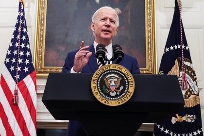 Joe Biden, nuevo presidente de Estados Unidos (Foto: REUTERS/Jonathan Ernst)