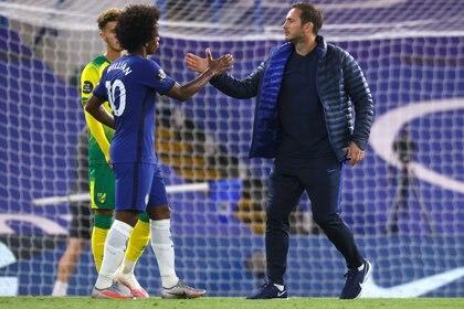 Willian ha sido clave en la ofensiva del Chelsea de Frank Lampard (Reuters)