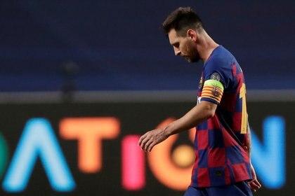 Messi termina su contrato con el Barcelona en 10 meses y aún no lo ha renovado (Reuters)