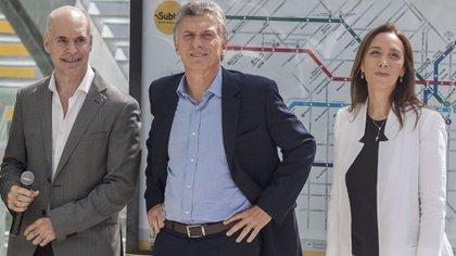 Macri, Vidal, Rodríguez Larreta: Desayunaron en Los Abrojos y ahí se resolvió que Hernán Lacunza sucediera a Nicolás Dujovne