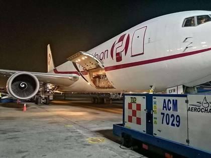 El primer cargamento de suministros médicos fue donado a México por dos fundaciones chinas (Foto: ccchinamexico.org)