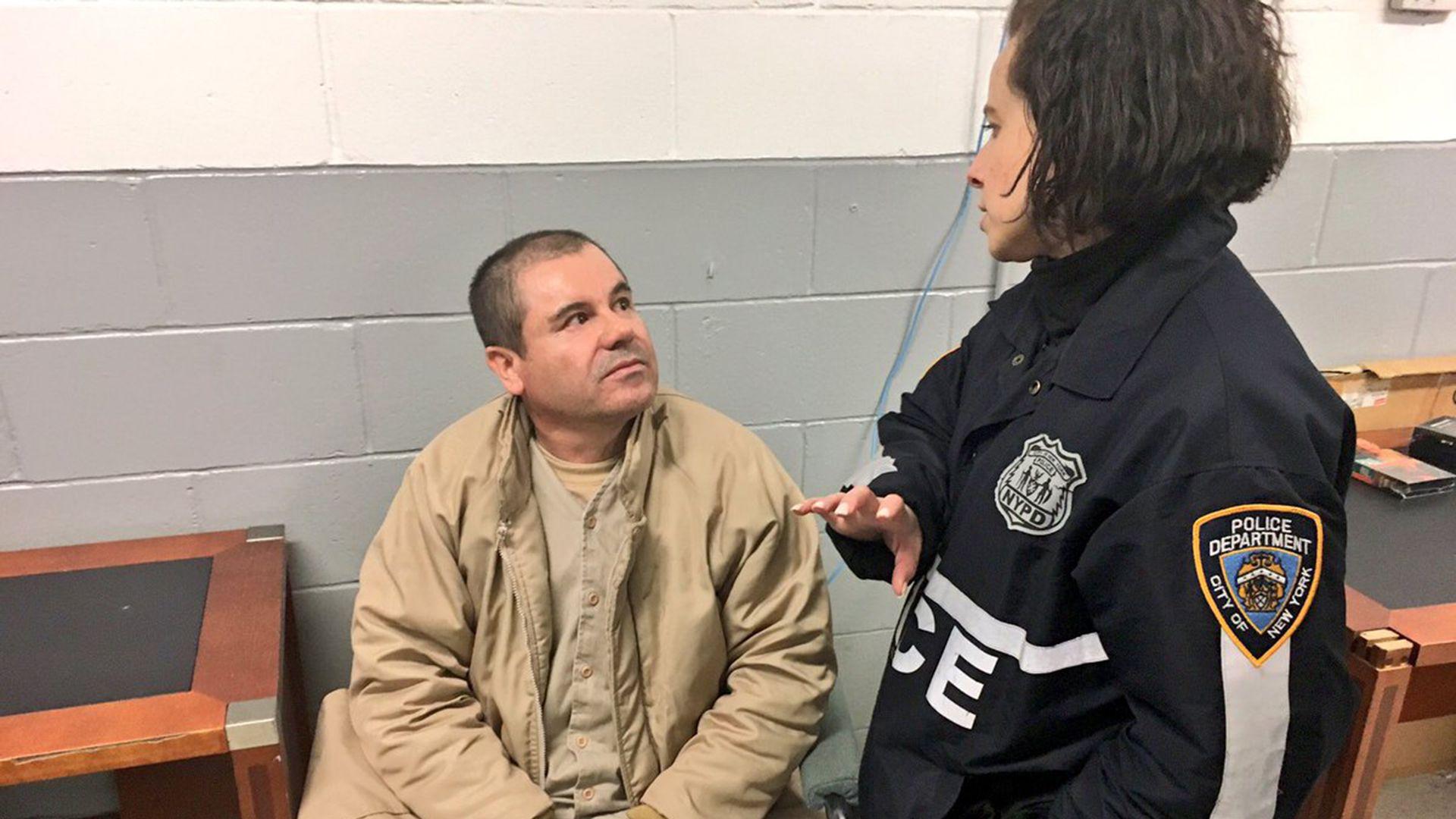 """Joaquín """"El Chapo"""" Guzmán está actualmente preso en Nueva York. (@ShimonPro)"""