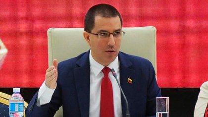 Jorge Arreaza, canciller de la dictadura venezolana (Twitter @CANCILLERIAVE)