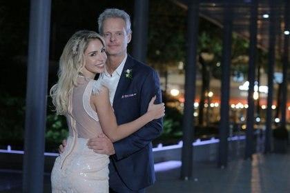 Luly Drozdek y Hernán Nisenbaum se casaron por civil
