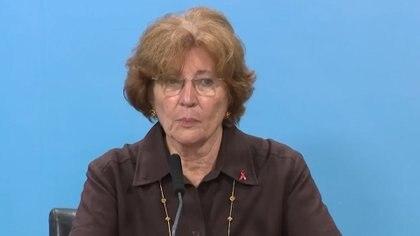 La especialista en enfermedades infecciosas y salud pública Mirta Roses integra el núcleo central de la comisión