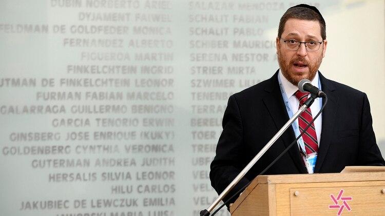 El presidente de la AMIA Ariel Eichbaum (Prensa AMIA)