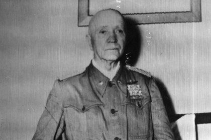 El general Pietro Badoglio fue elegido primer ministro en reemplazo de Mussolini