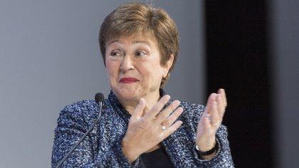 Kristalina Georgieva, directora gerente del Fondo Monetario Internacional (EFE /ALESSANDRO DELLA VALLE /Archivo)
