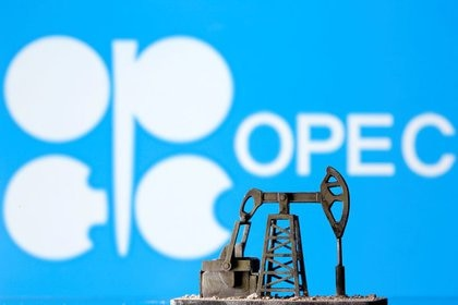 El logo de la OPEP en esta ilustración, el 14 de abril de 2020. REUTERS/Dado Ruvic/Ilustración/Archivos