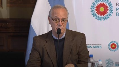 El ministro de Salud de Buenos Aires, Daniel Gollan