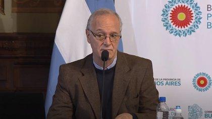 Daniel Gollán, ministro de Salud bonaerense