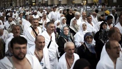 El Hajj reúne a más de 2,5 millones de peregrinos musulmanes de todo el mundo AFP 162