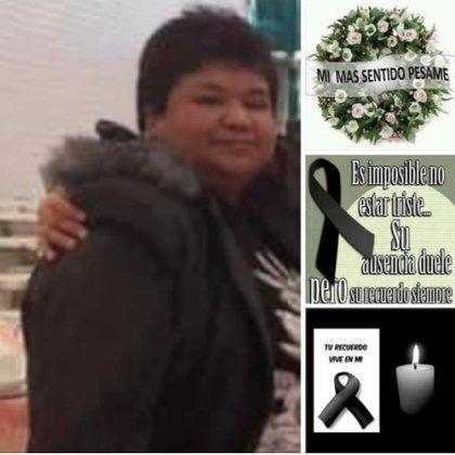La enfermera Julieta Brenis falleció la semana pasada debido a las complicaciones por COVID-19 Foto: (Facebook)
