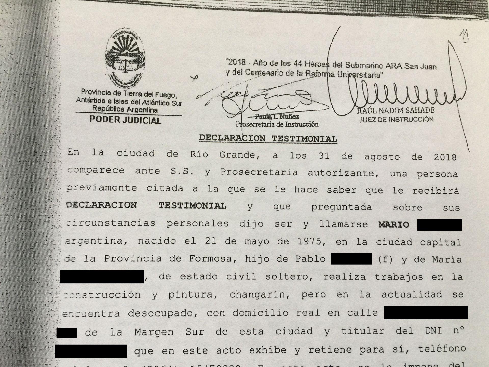 Las denuncias contra Melella a las que accedió Infobae el año pasado