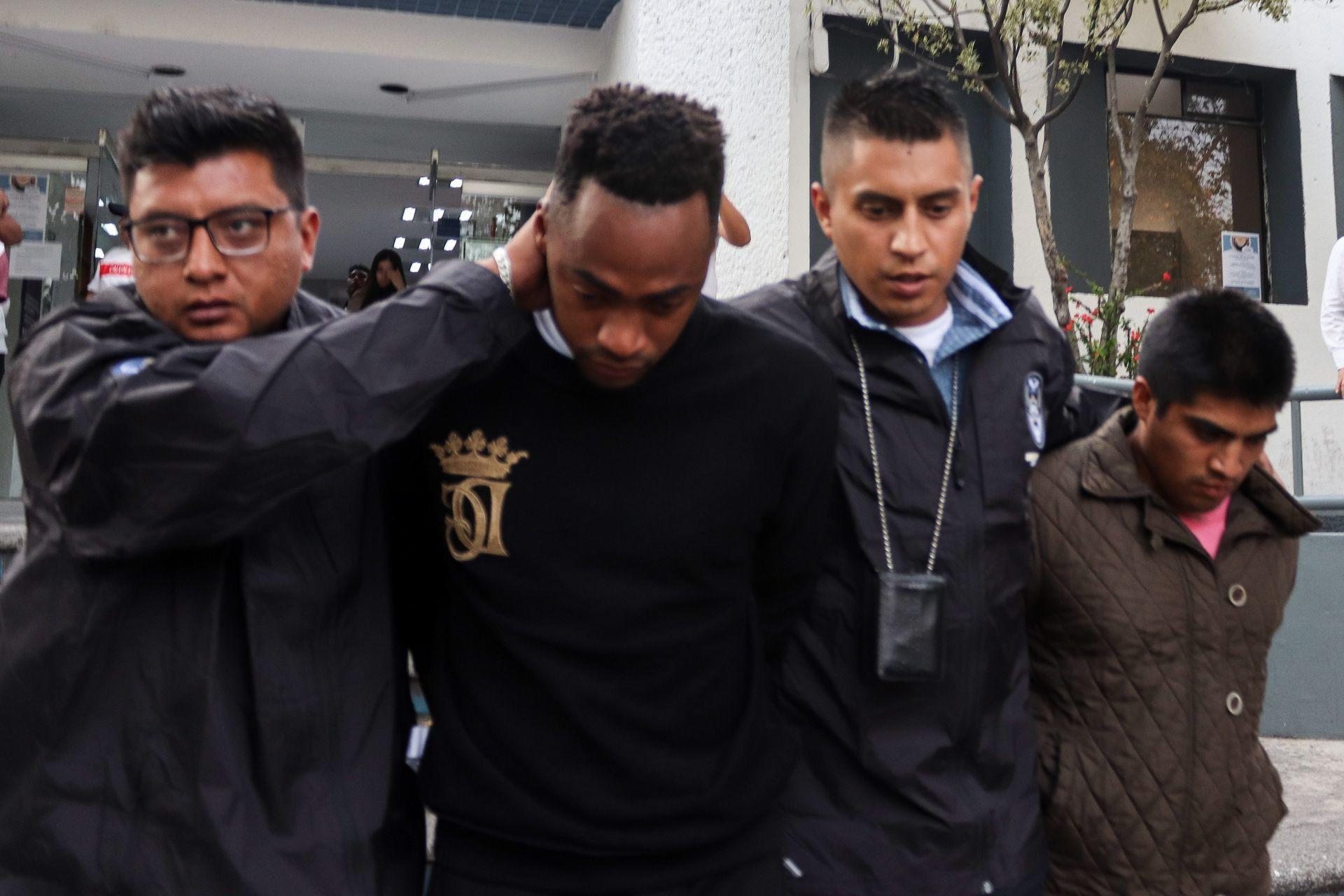 Renato Ibarra fue trasladado al Reclusorio Norte por supuesta agresión contra su esposa (Foto. Archivo)