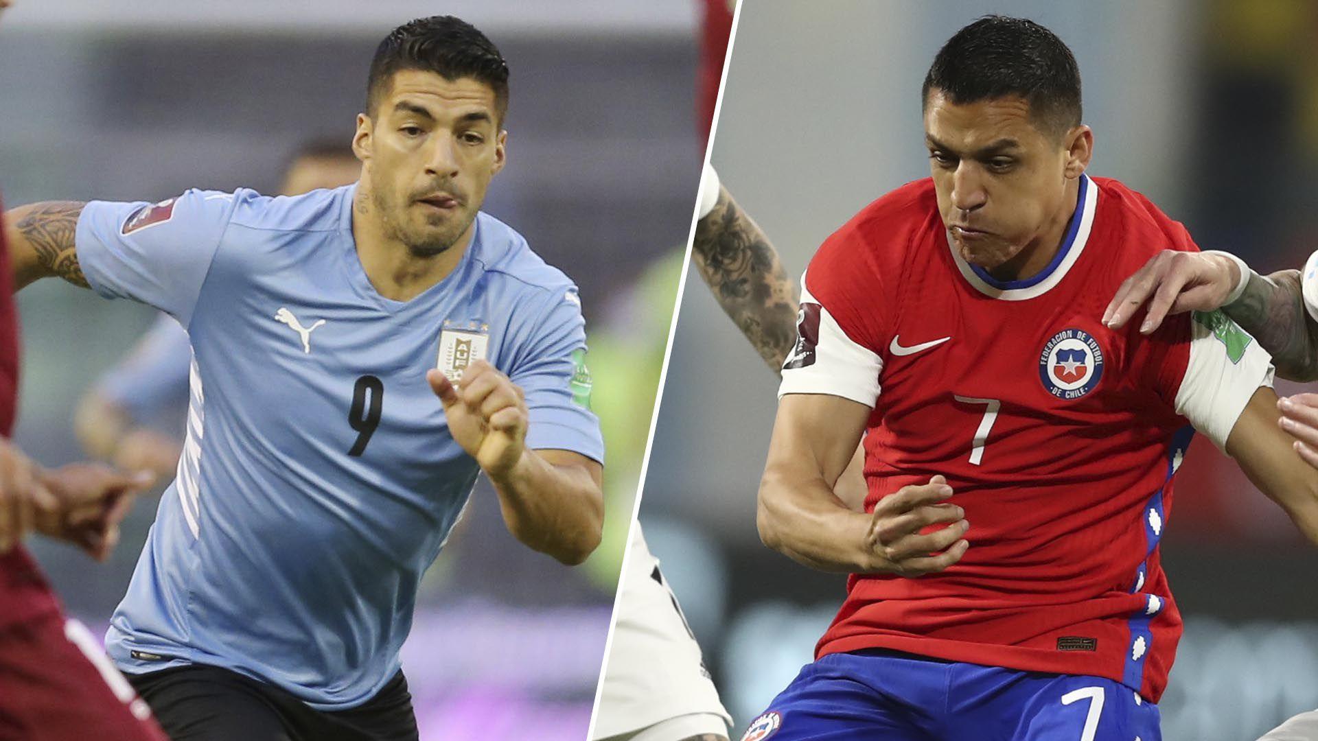 Previa Uruguay-Chile
