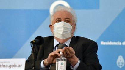 El ministro de Salud estuvo la semana pasada en la embajada rusa (Franco Fafasuli)
