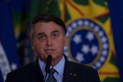 El presidente de Brasil, Jair Bolsonaro. (EFE)