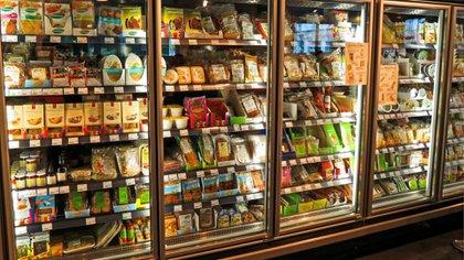 Los alimentos lideraron los aumentos en marzo