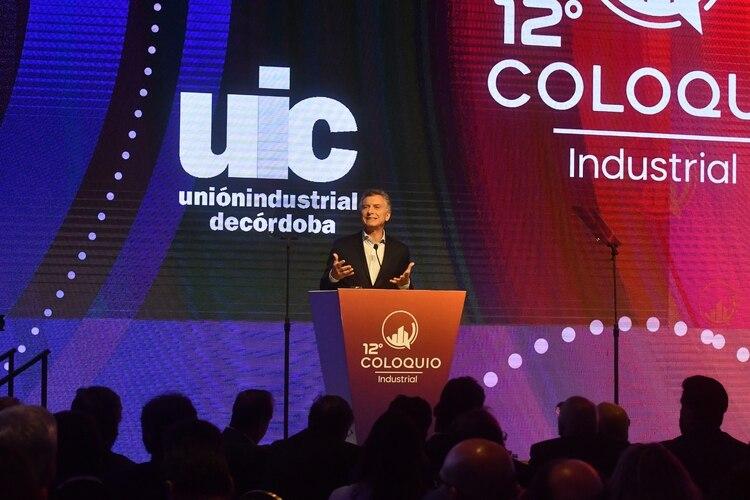 Mauricio Macri, este martes ante industriales cordobeses