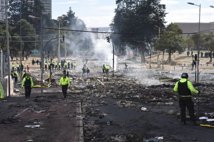 La Fuerza Armada levantó por ocho horas el toque de queda en Quito (Franco Fafasulli)