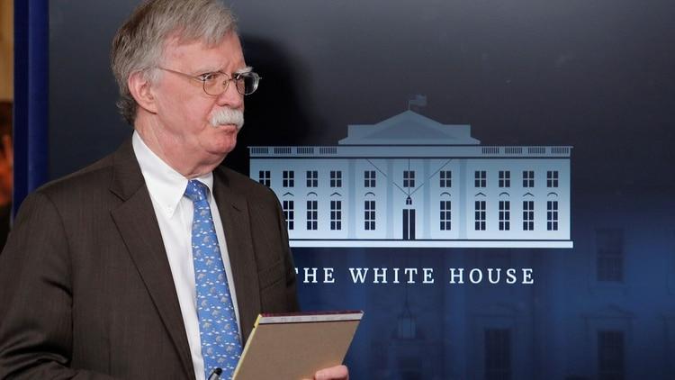 Bolton dejó el cargo después de un año y medio como asesor de seguridad nacional (Reuters)
