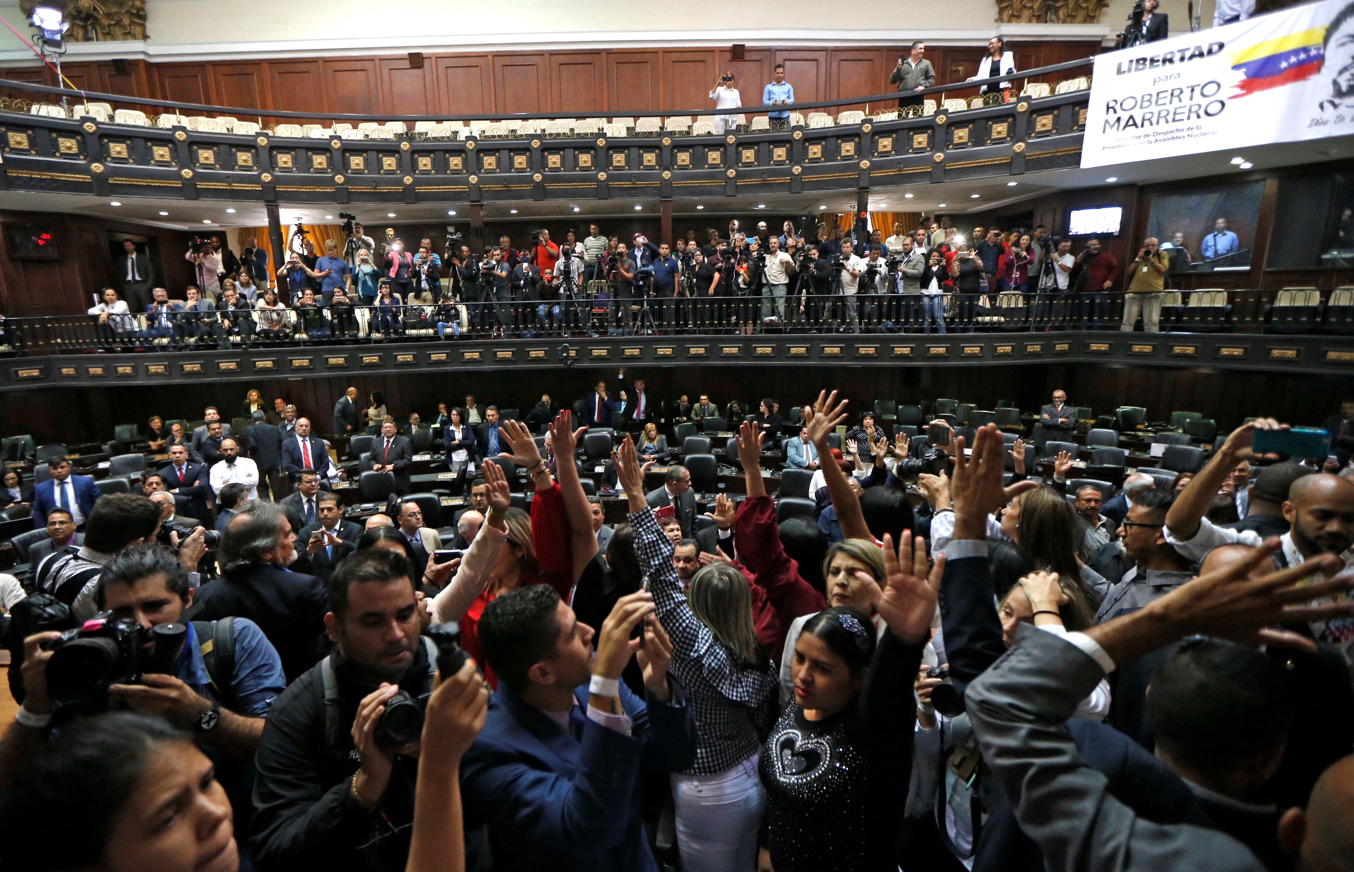 La comunidad internacional denunció un fraude parlamentario en Venezuela (REUTERS/Manaure Quintero)