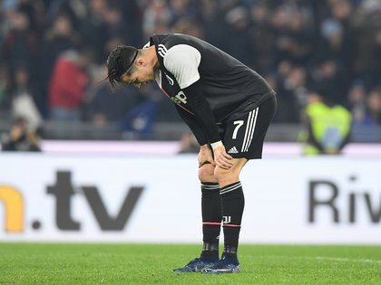 Soccer Football - Serie A - Lazio v Juventus - Stadio Olimpico, Rome, Italy - December 7, 2019   Juventus' Cristiano Ronaldo reacts after the match                REUTERS/Alberto Lingria