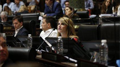 La legisladora Paula Villalba