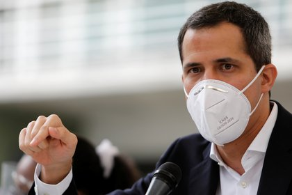 Juan Guaidó (REUTERS/Leonardo Fernández Viloria)