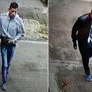 Los dos delincuentes, captados por las cámaras