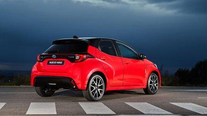 La motorización híbrida fue uno de los puntales para ganar este premio (Toyota)