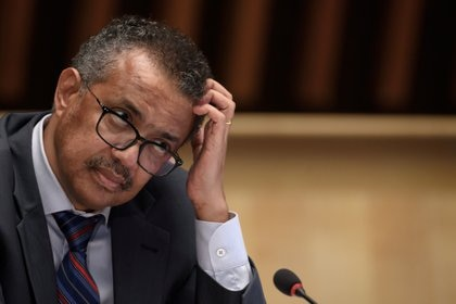 Tedros Adhanom Ghebreyesus (Fabrice Coffrini/Pool via REUTERS)