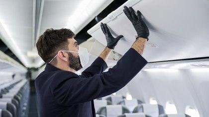 Las empresas ya cuentan con sus protocolos para el regreso de los vuelos domésticos