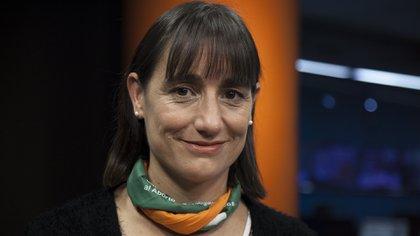 Romina Del Plá, precandidata a vicepresidente
