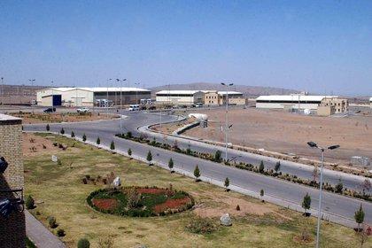 Vista del complejo de enriquecimiento de uranio Natanz, en Isfahan, centro de Irán (EFE/Archivo)