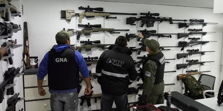 De los operativos participaron Gendarmería Nacional, la Agencia Federal de Inteligencia, personal de la Aduana, AFIP, entre otros organismos