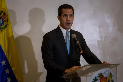 Juan Guaidó, presidente encargado de Venezuela (EFE/ MIGUEL GUTIÉRREZ/Archivo)
